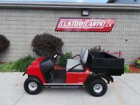 2012 Custom Carts Golf Cart