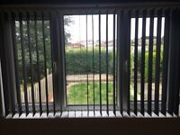 Vertical blacks blinds for sale