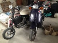 Honda Melody Deluxe 50cc mopeds scooters (Quick Sale!)