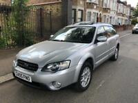 SUBARU LEGACY OUTBACK 2005 AUTOMATIC 2.5 SE SPORT 4X4 TOURER WITH FULL SERVICE HISTROY