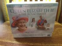 Queen Elizabeth dvd set - brand new