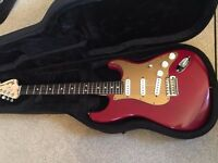USA Fender Stratocaster American Rosewood Neck + machineHeads + CASE