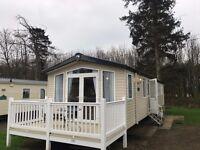 *Bargain* 3 bedroom double glazed central heated static caravan for sale, Haggerston Castle, Berwick