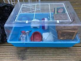 cage used for hamster