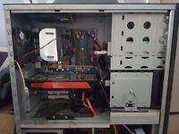 PC Q6600, ATI HD5850, Antec silent case, Corsair HX520 PSU