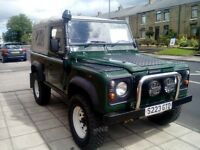 land rover defender 300tdi good condition
