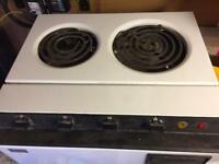 Baby belling cooker oven grill hob