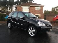 2007 MERCEDES ML 280 CDI ** FULL CREAM LEATHER INTERIOR ** ALL MAJOR CARDS ACCEPTED