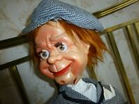 Wanted PLastic Ventriloquist doll 1970s