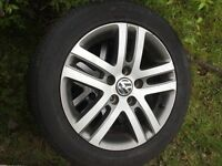 Genuine Volkswagen alloys