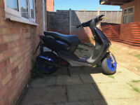 Yamaha neos 50cc with 70cc kit fitted