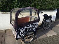 Babboe electric cargo bike - great condition!