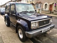 Daihatsu Fourtrak (Full main dealer service history)
