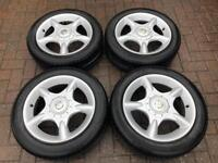 """Genuine 16"""" BMW Mini Cooper One Alloy Wheels And 195 / 55 R16 EVERGREEN Tyres"""