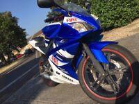 Custom Yamaha yzf r125 must read!!