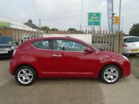 ALFA ROMEO MITO 1.4 TB MultiAir Lusso 3dr (start/stop) (red) 2010