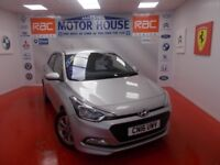 Hyundai i20 MPI SE BLUE DRIVE(ONLY 2200 MILES) FREE MOT'S AS LONG AS YOU OWN THE CAR!!! 2016