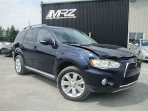 2013 Mitsubishi Outlander XLS - AWC - Cuir Toit Mags Full - ETC!