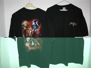 T-shirts  collection Jeux video Soul Caliber - Star war - Halo 3