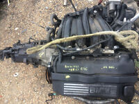 bmw e46 3 series 320 ci n42 engine breaking for spares and repairs call parts 4 cylinder engine