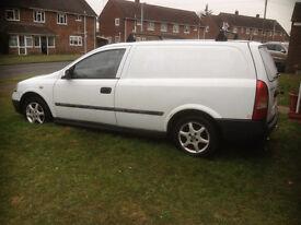 1999 Astra Envoy TD 1700 van - good work horse in need of tlc/spares and repair