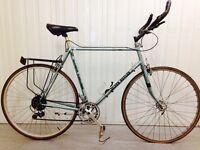 Road Bike Claude Butler 12 speed Reynolds Tubing