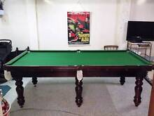 'Graham Alan' Billiard Pool Table (8 x 4 ft) w/ extras Wollongong Wollongong Area Preview