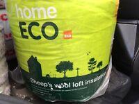 B&Q Home Eco Loft Insulation, (L)3m (W)370mm (T)200mm - 2x ROLLS