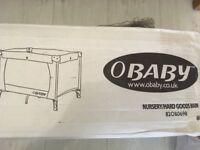 Obaby travel cot