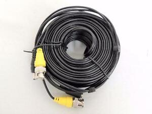 New, 50Ft Flir Surveillance Security Camera Video Audio Wire Connector Cable
