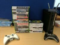 Xbox 360 Elite for sale with Games