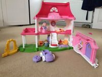 Little people musical play house