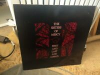 The Sisters of Mercy - First and Last and Always 1985 (Mint Condition LP)