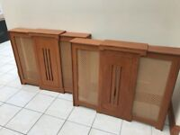 X2 Wooden Radiator Covers