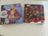 Hannah Montana Encore Edition DVD Game and Bratz Rock Angelz World Tour Game