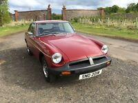 PRICE REDUCED Red MG BGT