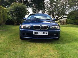 Low mileage BMW 323ci convertible