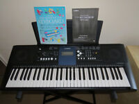 Yamaha PSR-E333 Digital Touch Sensitive Keyboard with stand