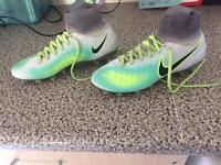 Nike football sock boots like new 3.5