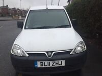2011 Vauxhall Combo 1.3cdti One Company Owned Full Service History