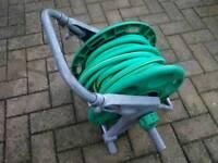 Hose lock reel and hose
