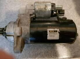 Audi/vw starter motor