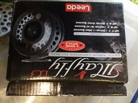 LC3 FLY FISHING REEL with 2 spare spools boxed