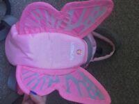 Little light toddler butterfly reins