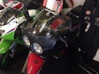Classic sports bike 400cc Suzuki GSXR400