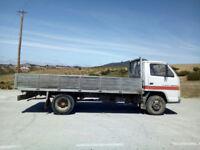 Left hand drive Isuzu NKR 3.3 diesel 6 tyres 3.5 Ton truck. MOT till 2018.