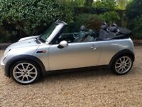 Convertible Mini One 1.6 (54) 2004 - Only 84,000 miles - FSH - 18' John Works Alloys