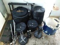 Tama 6 Piece Acoustic Drum Kit + ACCESSORIES