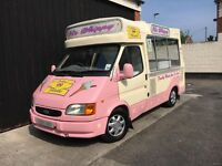 Ford Transit Soft Ice Cream Van Carpigiani Icecream Machine 1999 V Reg Full Cowl SWB