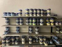 Wall Shop Shelving